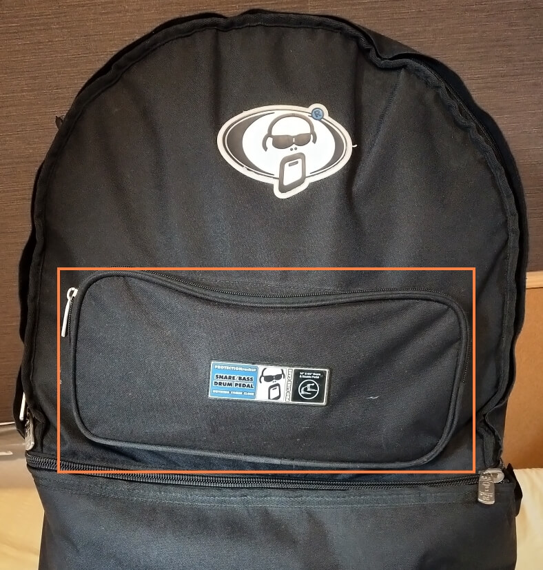 プロテクションラケットのバッグ